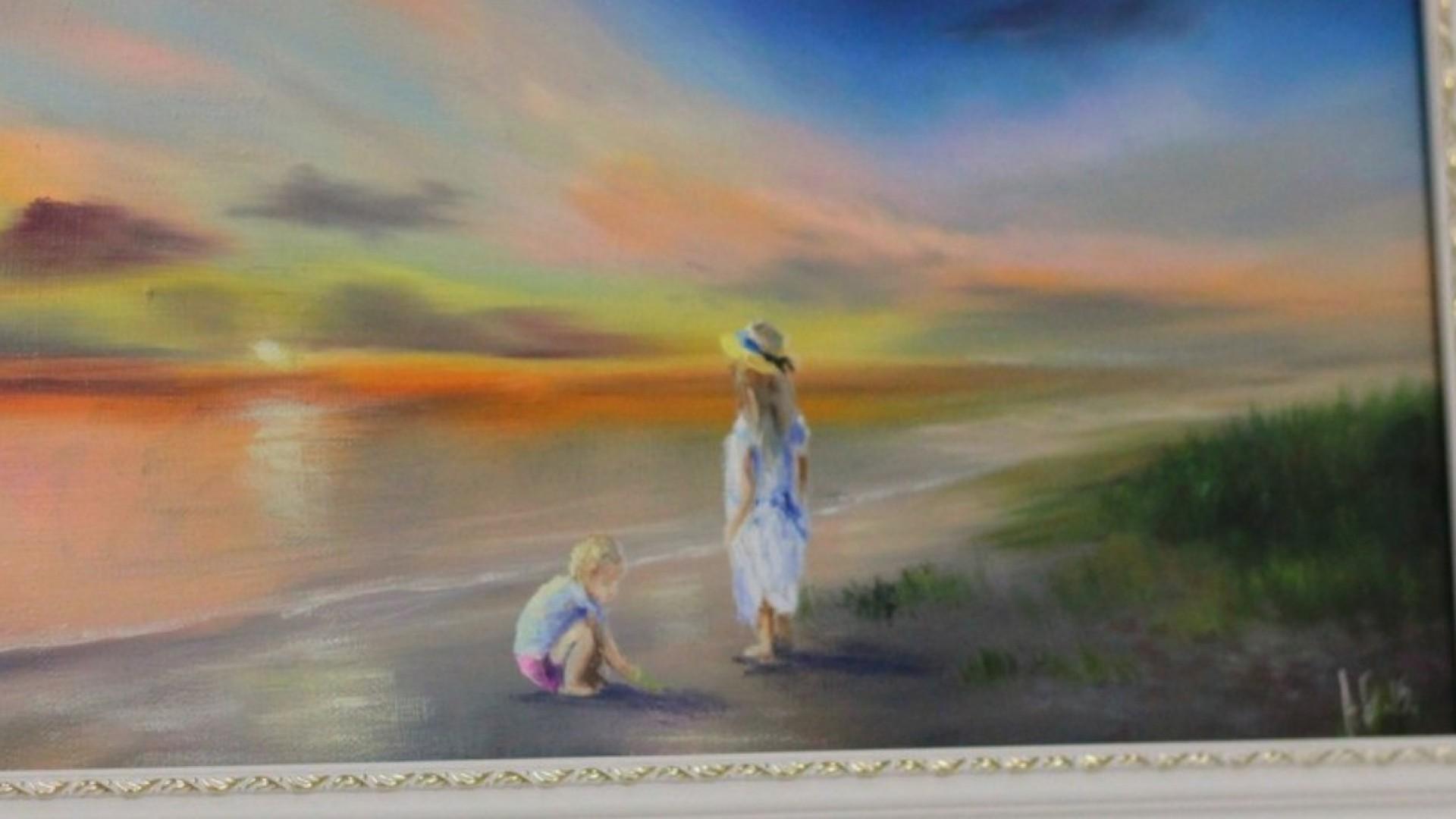 Мастер-класс по живописи: пишем закат