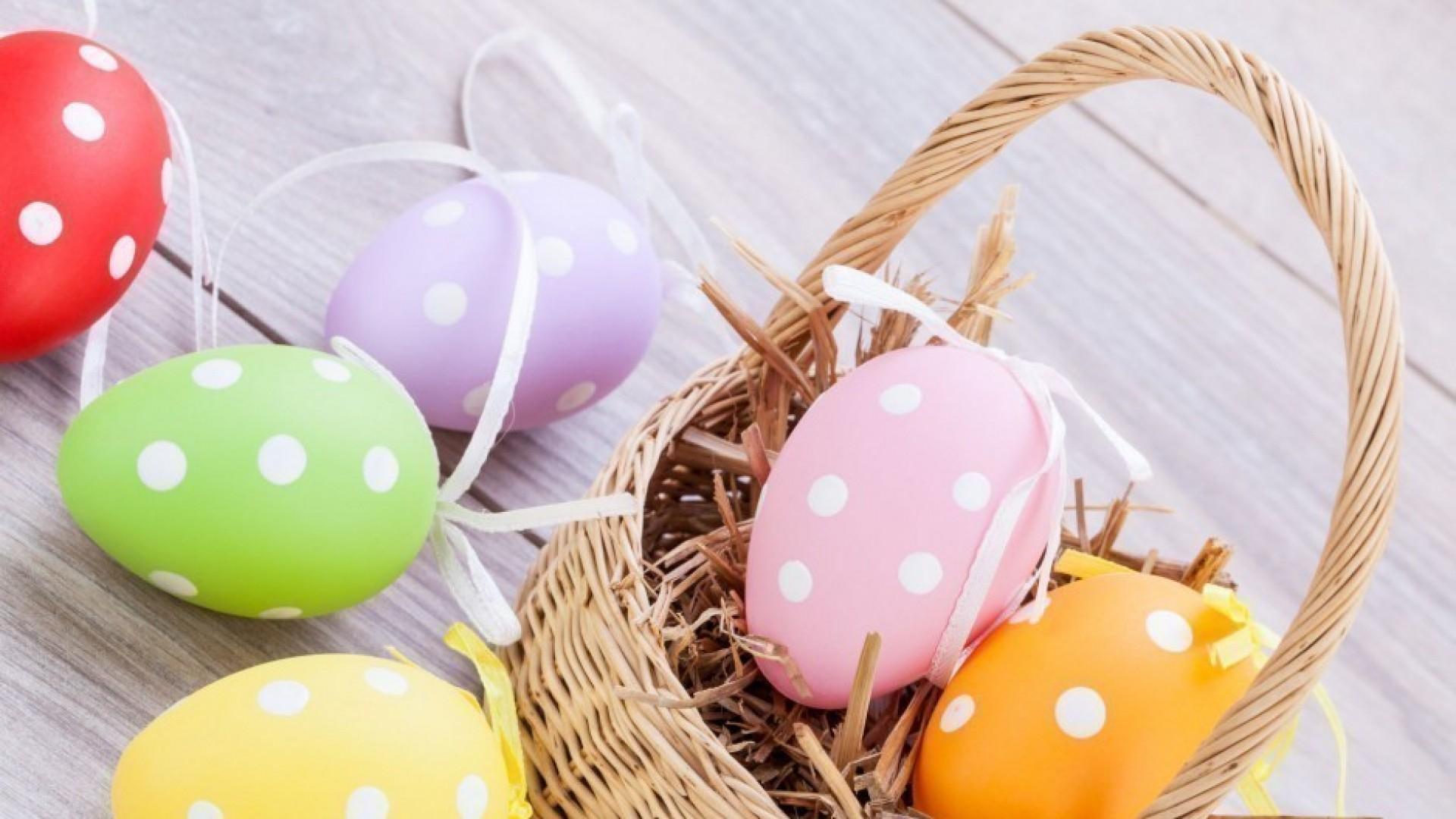 Пасха: 3 способа украсить яйца