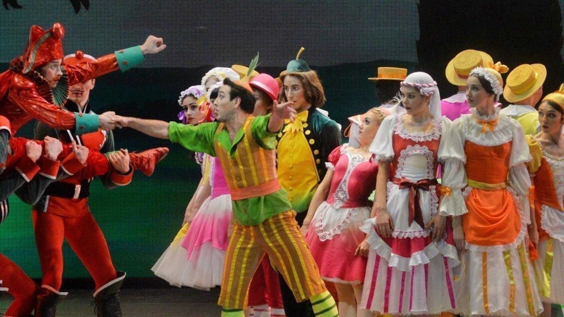 Легендарный балет омальчике-луковкепоставили вНовосибирске