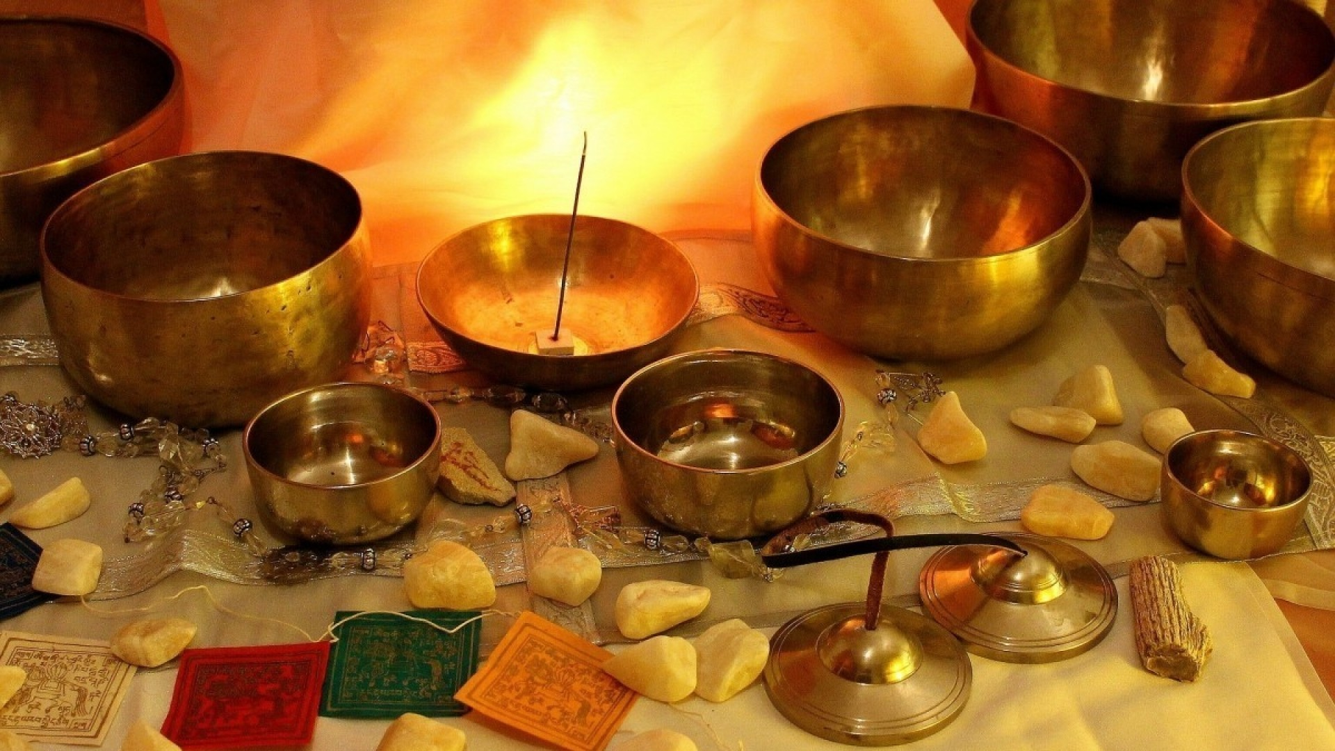 Музыка для релакса: тибетская чаша