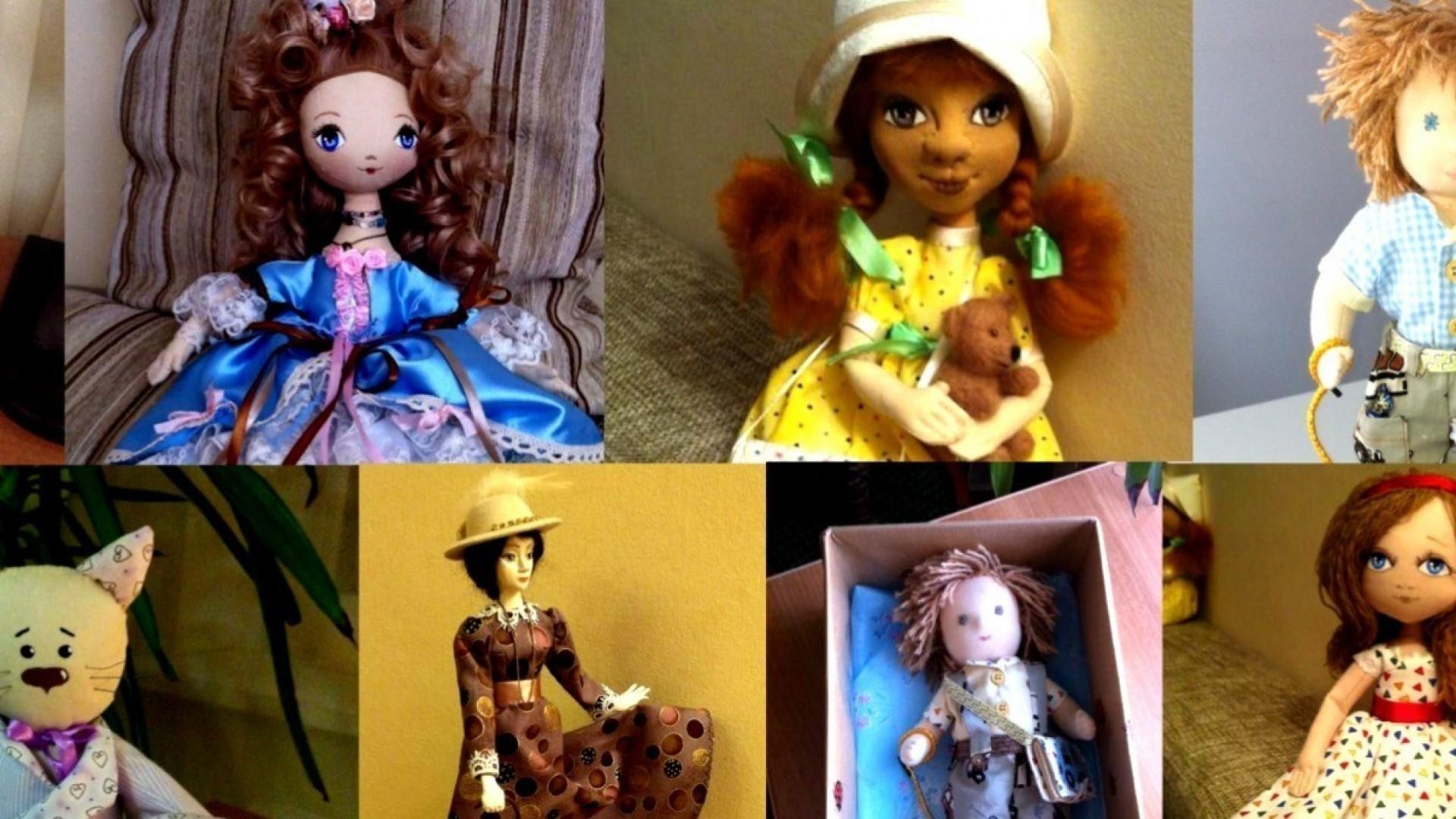 Елена Самохвалова: «Не хочу, чтобы мои куклы стояли на полке!»