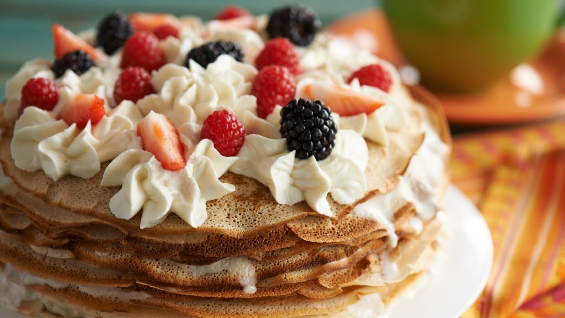 Эх, Масленица! Блинный торт к народному празднику!