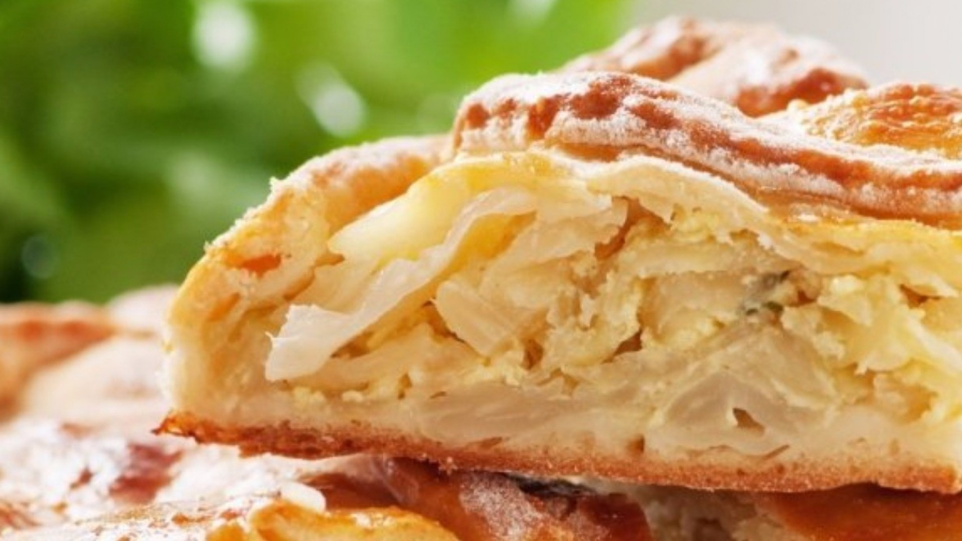 2 рецепта домашних вегетарианских пирогов
