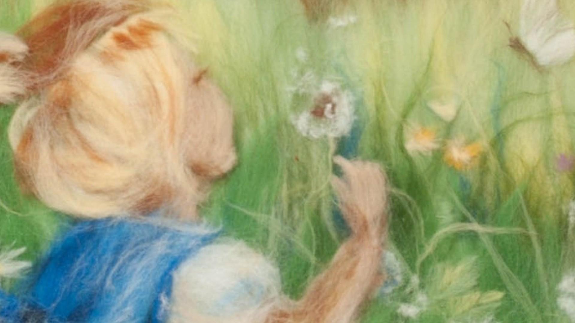 Шерстяные феечки и мягкие картины:  согревают руки и сердца