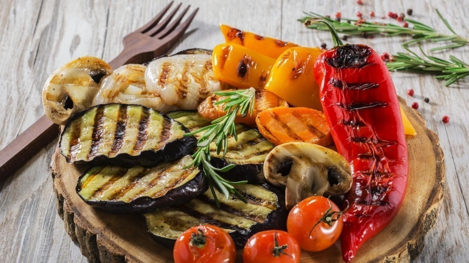 Овощной шашлык: 3 вкусных рецепта