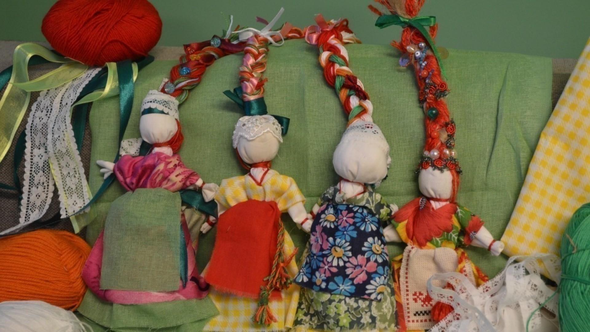 Мастер-класс: славянская кукла Веснянка за 10 шагов