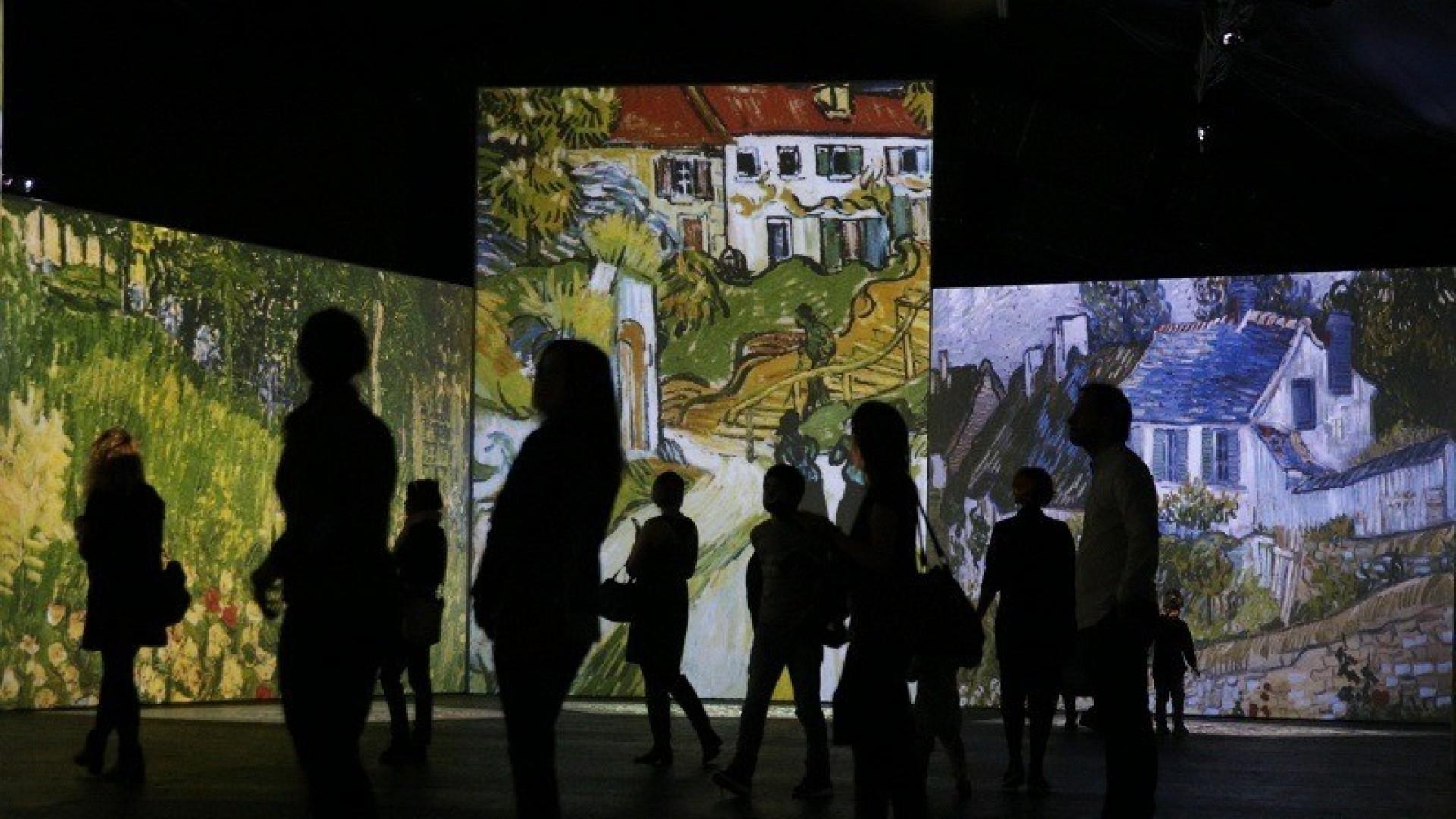 На весенних каникулах новосибирские школьники бесплатно посетят выставку «Ван Гог. Ожившие полотна»
