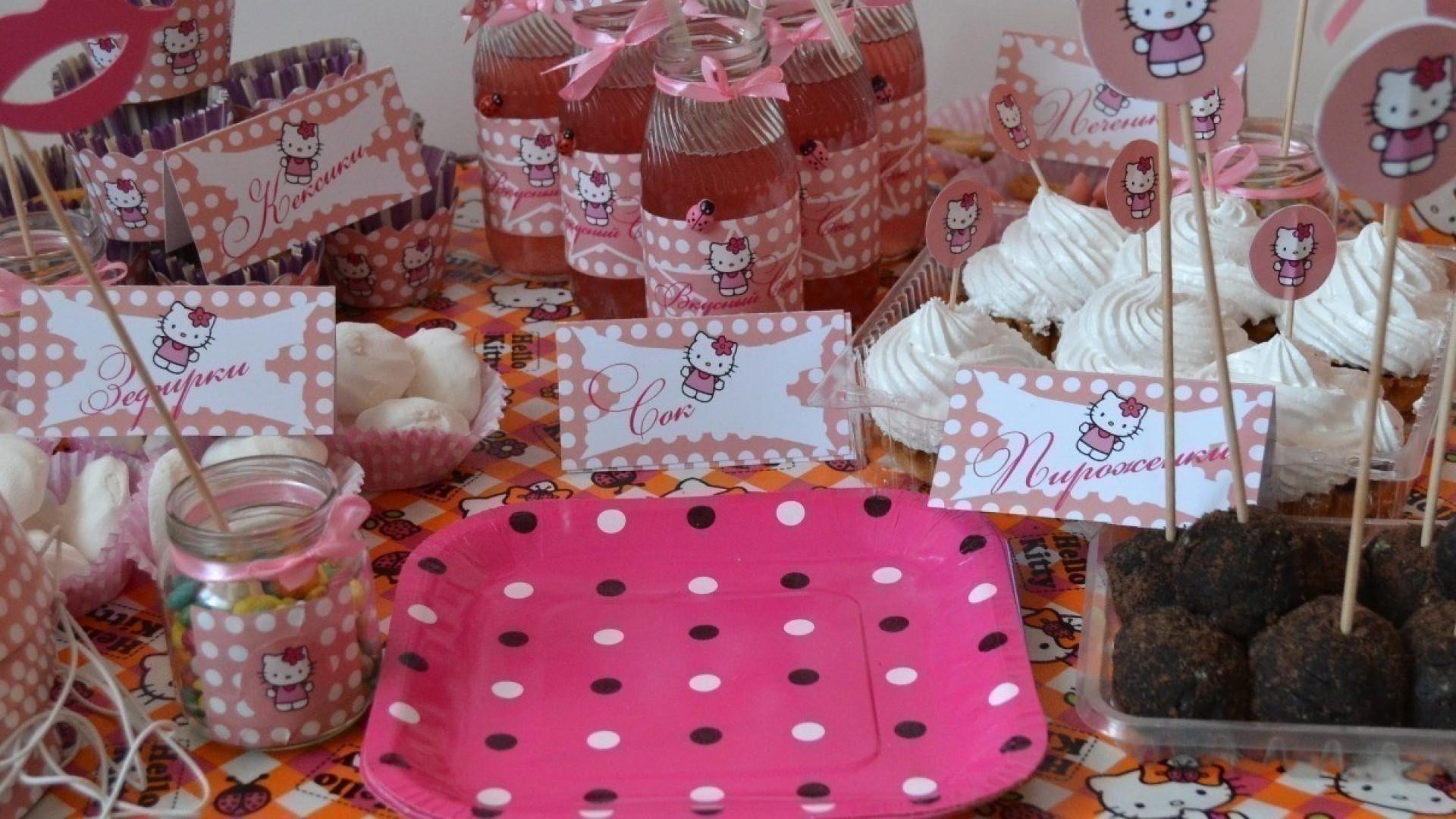 Candy Bar на день рождения своими руками