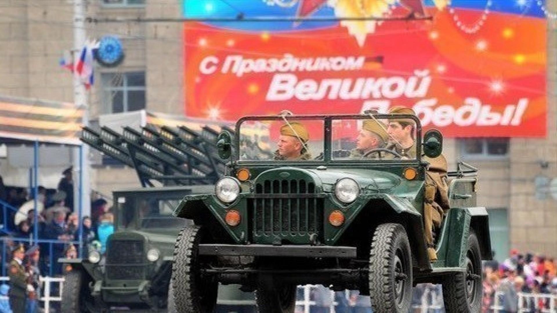 20 праздничных площадок в Новосибирске на 9 мая