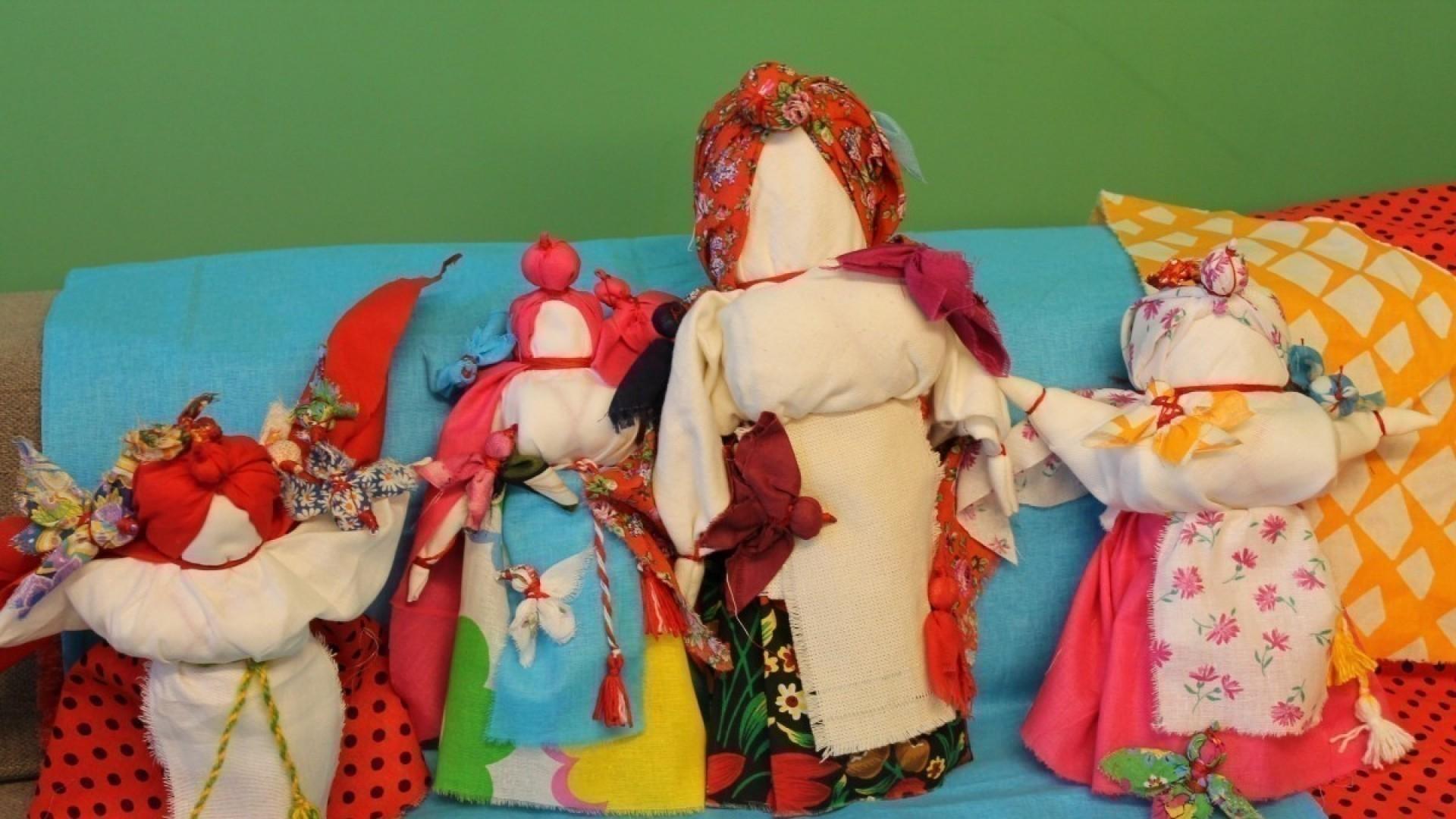 Мастер-класс: делаем славянскую куклу Птица-Радость