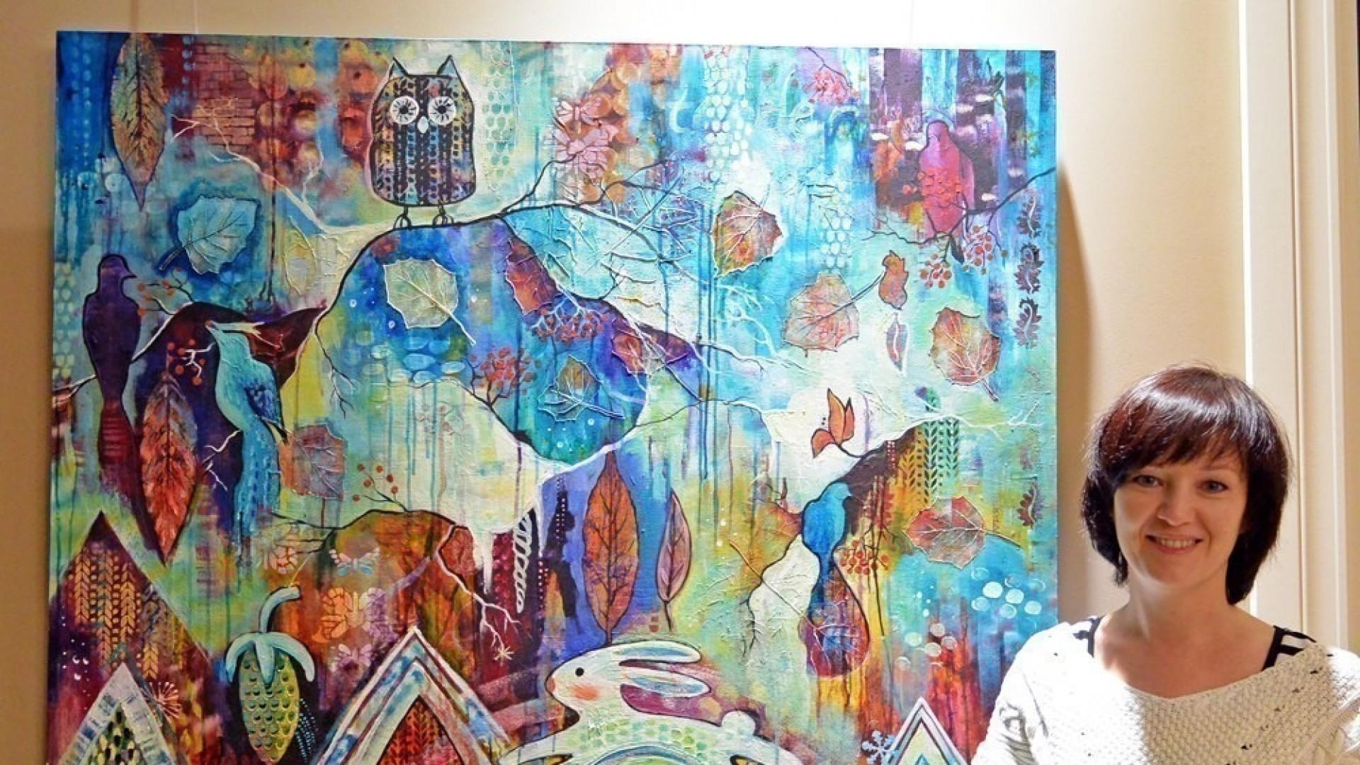 Художник Марианна Очира: «Интуитивная живопись — это импровизация, игра, приключение»