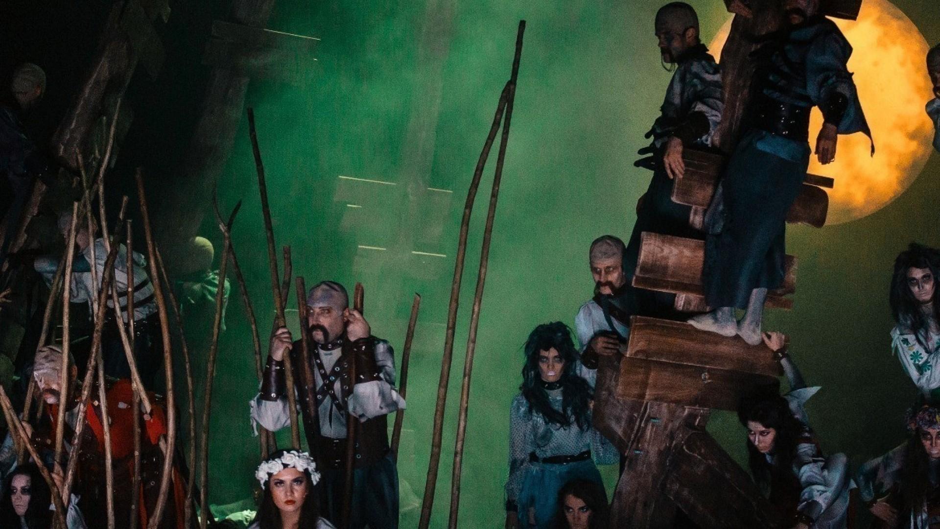 Мюзикл «Вий» номинирован на соискание Национальной театральной Премии «Золотая Маска»